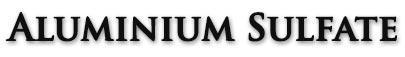 آلومینیوم سولفات | Aluminium Sulfate